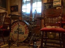 The Preservation Hall drum kit